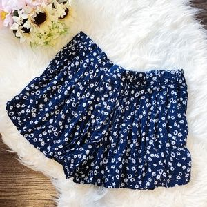 URBAN OUTFITTERS FLORAL COZY SHORTS